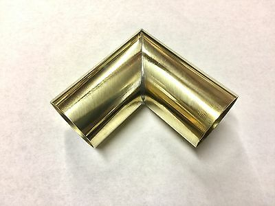 "1.5"" Diameter 90 Degree Brass Elbow For Player Piano Restoration 1-1/2"""