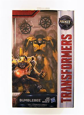 Hasbro Transformers: The Last Knight Premier Edition Deluxe Bumblebee Figure