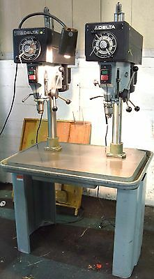 "Delta #15-350 15"" 2-Spindle Drill Press"