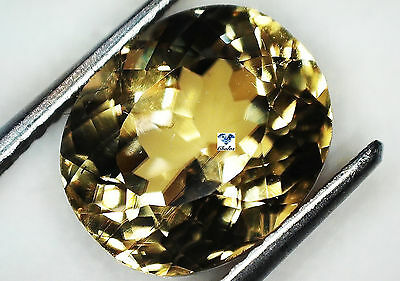 1x Diaspore - oval facettiert 4,74ct. 8,9x10,5x6,5mm (1694QA)