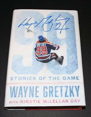 "Autographed Wayne Gretzky Book  ""Stories of the Game""  c/w JSA COA  NHL Hockey"