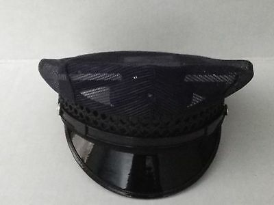 Police Hat 8 Point Mesh Style