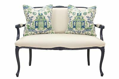 French Provencal Settee
