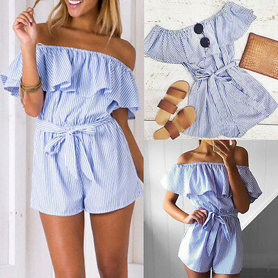 2017 Women Ladies Clubwear Playsuit Bodycon Party Jumpsuit Romper Short Trousers