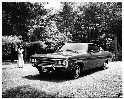 1971 AMC Rambler Rebel Prototype Factory Photo ad7503