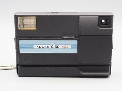 Vintage Kodak Disc 3600 Camera with Built-In Flash