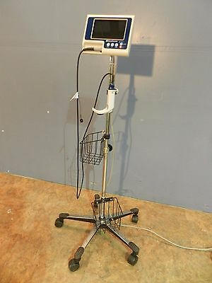Verathon Glidescope Portable GVl Video Laryngoscope w/Reusable Baton and Cart