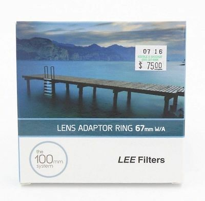 Lee 67Mm Wide Angle Adapter Ring Original Metal For 100M Nd & Grad Filters (043)