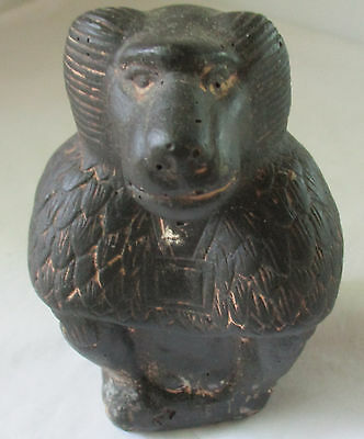 Antique Egyptian Carved Stone Baboon Sculpture Egypt