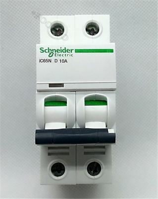 New Schneider Small Ic65n 2P D10a Air Circuit Breaker Switch V