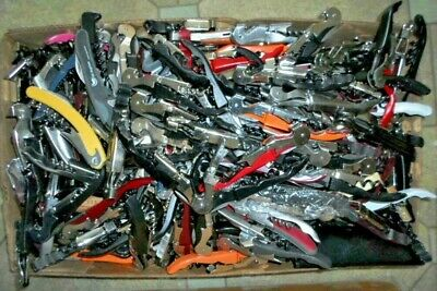 Lot of 35 Both Single & Double HINGED CORKSCREW,Stainless,they are mixed TSA