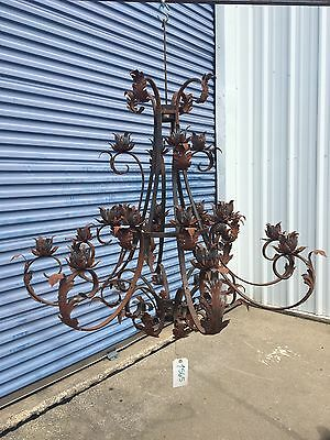 Iron Chandelier - very large 20 lights