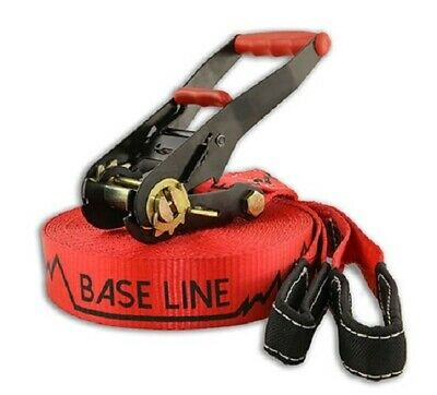 Slackline Industries Base Line 25m Slackline - Red
