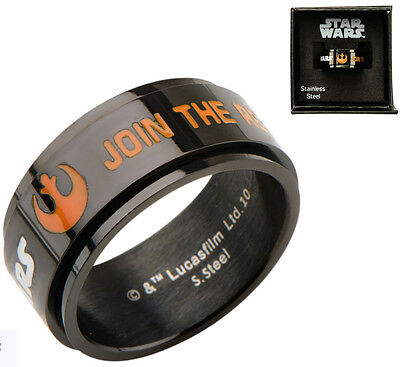 Star Wars Ring Join The Resistance Size 9  - BRAND NEW