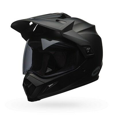 Bell Powersports MX-9 Adventure MIPS Equiped Solid Helmet S Matte Black