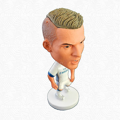 Cristiano Ronaldo Figurine Toys For Collection Real Madrid Shirt on Player
