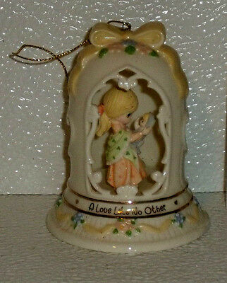 Precious Moments Bell Ornament A LOVE LIKE NO OTHER Mother and Child Vtg