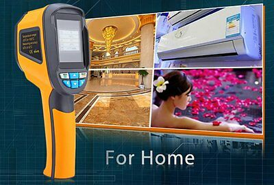 1Pc Handheld Thermal Imaging Camera Infrared Thermometer Imager -20℃~300℃ OP