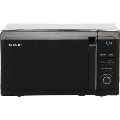 Sharp Microwave R664KM 800 Watt Microwave Free Standing Black New from AO