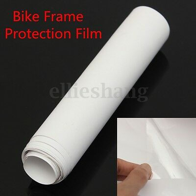 1M 15cm Bicycle Bike Frame Protector Clear Vinyl Tape Film 15cm -60° To +120°