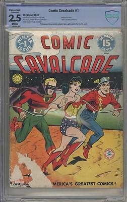 COMIC CAVALCADE 1 -  Golden Age First Issue - DC Comics