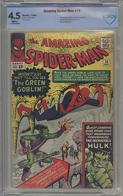 AMAZING SPIDER-MAN 14 - CBCS 4.5 - First appearance Green Goblin - Marvel Comics