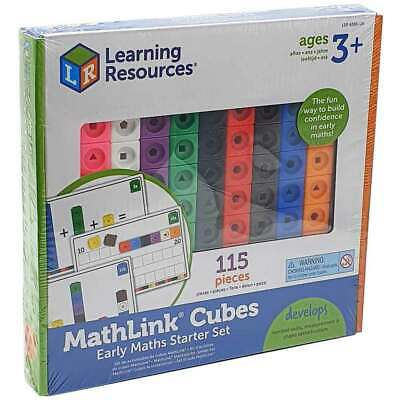 Learning Resources Mathlink Cubes Early Math Starter Set NEW
