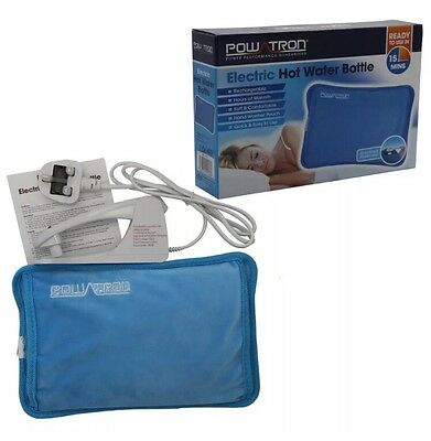New Rechargeable Electric Hot Water Bottle Bed Hand Warmer Massaging Heat Pad