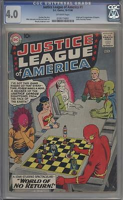JUSTICE LEAGUE OF AMERICA 1 - CGC 4.0 - First Despero - DC Comics