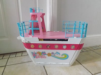 Barbie Cruse Ship Boat With Swimming Pool Play Set