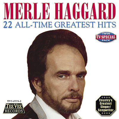 Merle Haggard - 22 All Time Greatest Hits [New CD]