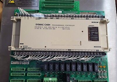 Omron Sysmac C40H-C60R-De-V1 /with Control Board View Engineering 10000-503 (R4S