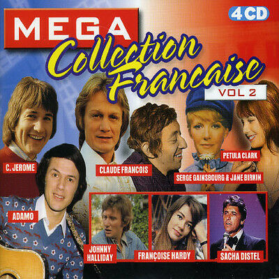 Various Artists - Mega Collection Francaise Vol .2 / Various [New CD] Holland -