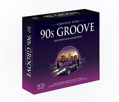 Various Artists - Greatest Ever 90s Groove / Various [New CD] UK - Import