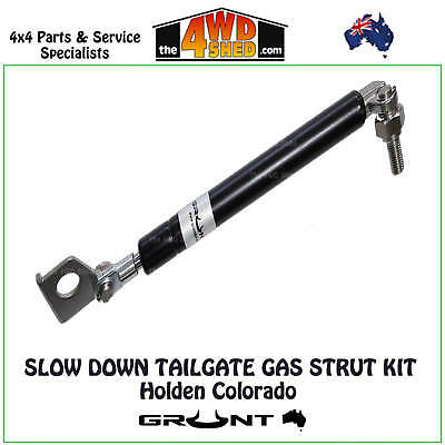 SLOW DOWN TAILGATE STRUT KIT GAS TAIL HOLDEN COLORADO RG 2012 - 2017 (Cables)