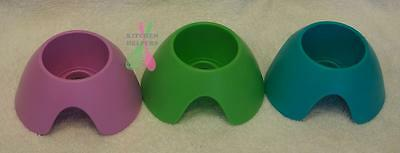 Tupperware Drink Bottle Drying Stand Green, Pink, Blue -  NEW