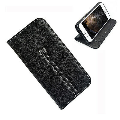 Luxury PU Leather Flip Wallet Case Cover Stand Card Pocket For Apple iPhone 7
