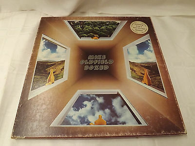 Mike Oldfield ‎ Boxed Vinyl Box 4 LP's 12 page Booklet