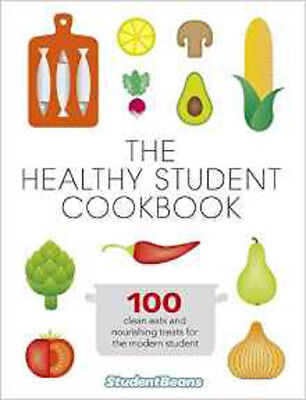The Healthy Student Cookbook, New, studentbeans.com Book