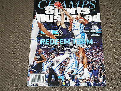 KENNEDY MEEKS Signed 2017 Champs Sports Illustrated UNC Basketball Autograph JSA