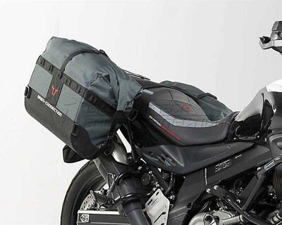 Saddlebag Set Dakar Black. Suzuki DL 650 (11-).