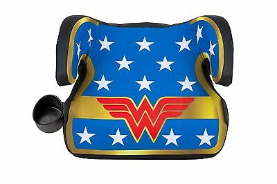 KidsEmbrace WB Belt Positioning Backless Booster Car Seat Wonder Woman