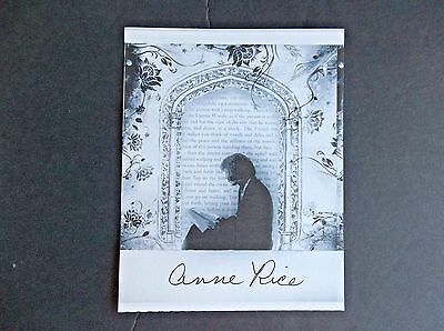 """""""Interview With The Vampire"""" Author Anne Rice Autographed Book Plate"""