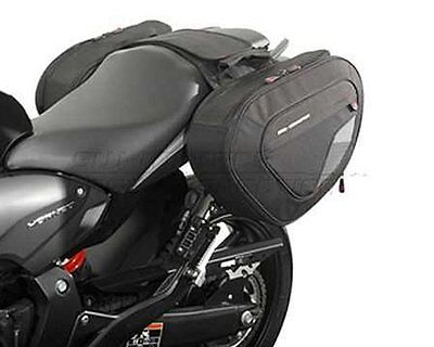 Saddlebags Set Sports. 1680 Ballistic Nylon. Honda CB 600 F (07-10)