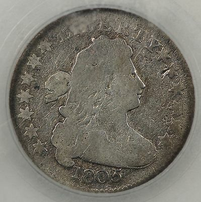 Better Date Good Condition 1805 Draped Bust Dime Jr-1 5 Berries Rev.    (Boe79)