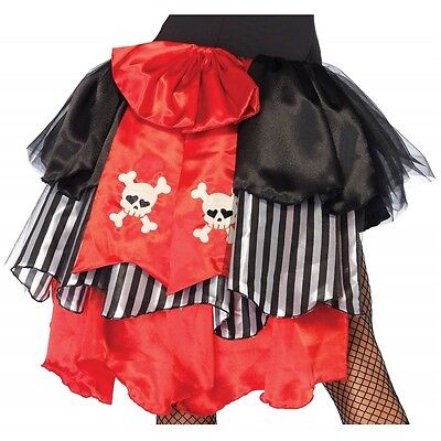 Pin On Pirate Bustle with Skull Accents Costume Accessory Adult Halloween