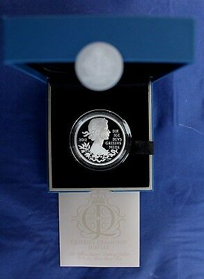 "2012 Silver Proof £5 Crown ""Diamond Jubilee"" in Case with COA & Outer   (AR2/24)"