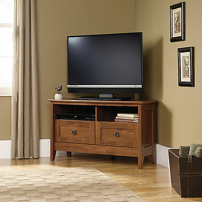 "Sauder Corner TV Stand with Drawers for LED LCD TV 32,""37"", 39"", 40"""