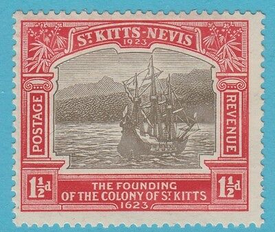 St Kitts Nevis 54 Mint Hinged Og * No Faults Extra Fine !