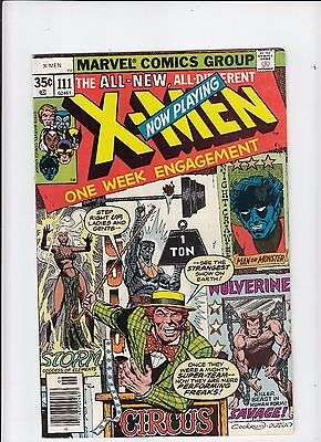 X-Men #111 Claremont/Byrne (Marvel 1978) fine-